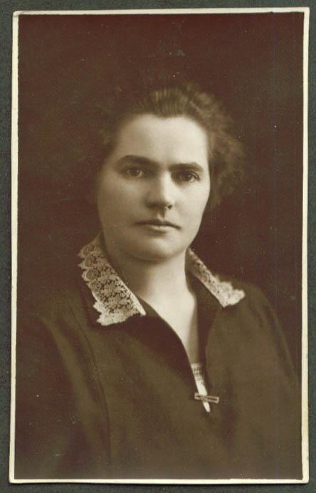 Caroline Hochreiter RPPC ca 1910