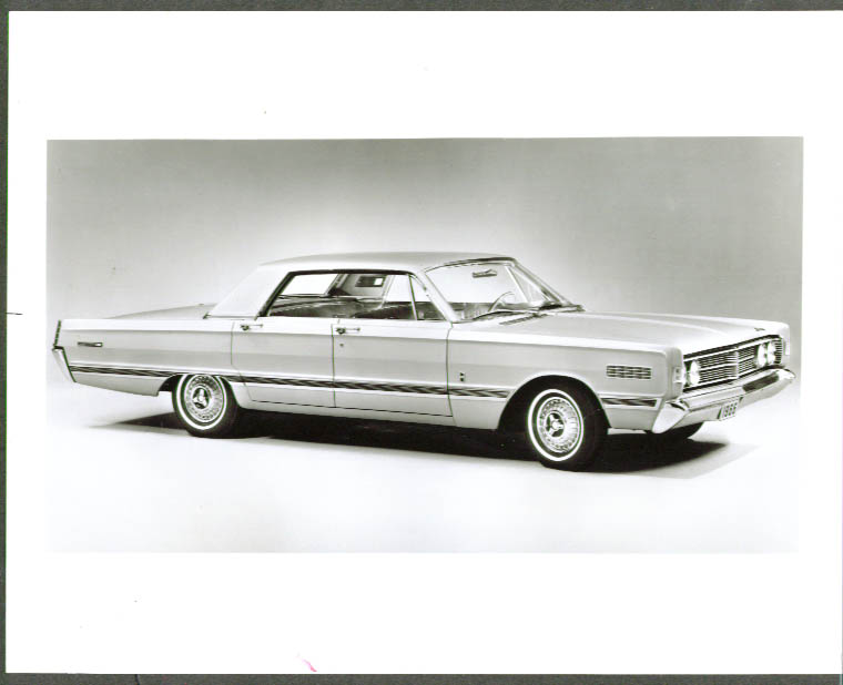 1966 Mercury Park Lane 4-door hardtop 8x10 press photo
