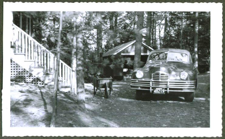 1950 Packard MA tag 48219 Unity Maine photo
