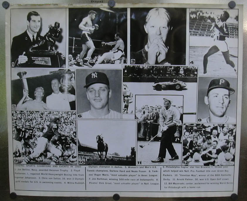 1960 Sports Champs & Highlights photo Maris Palmer ++