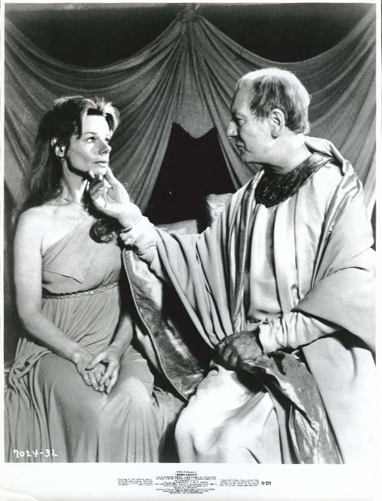 John Gielgud Jill Bennett Julius Caesar 8x10 1970