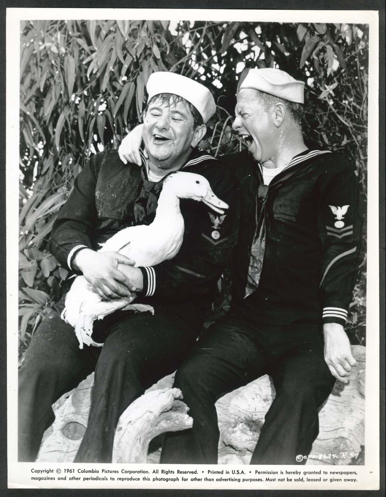 Image for Buddy Hackett Mickey Rooney laughing duck Everything's Ducky 8x10 photo 1961 #57