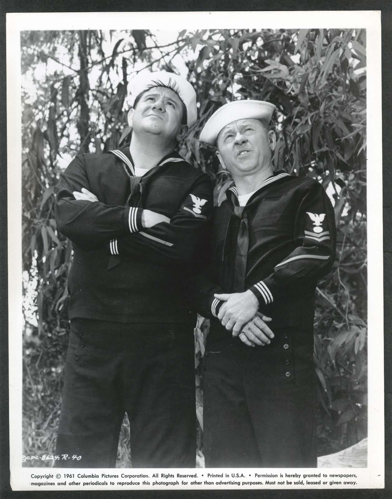 Image for Buddy Hackett Mickey Rooney sailors Everything's Ducky 8x10 photograph 1961 #40