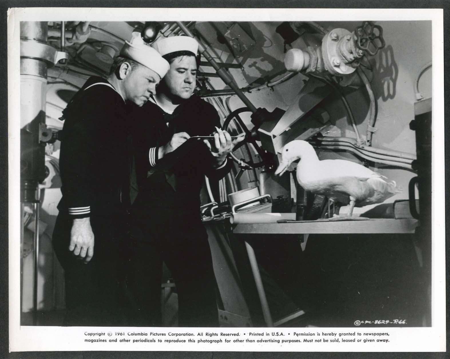 Image for Mickey Rooney Buddy Hackett Everything's Ducky submarine 8x10 photo 1961 #66