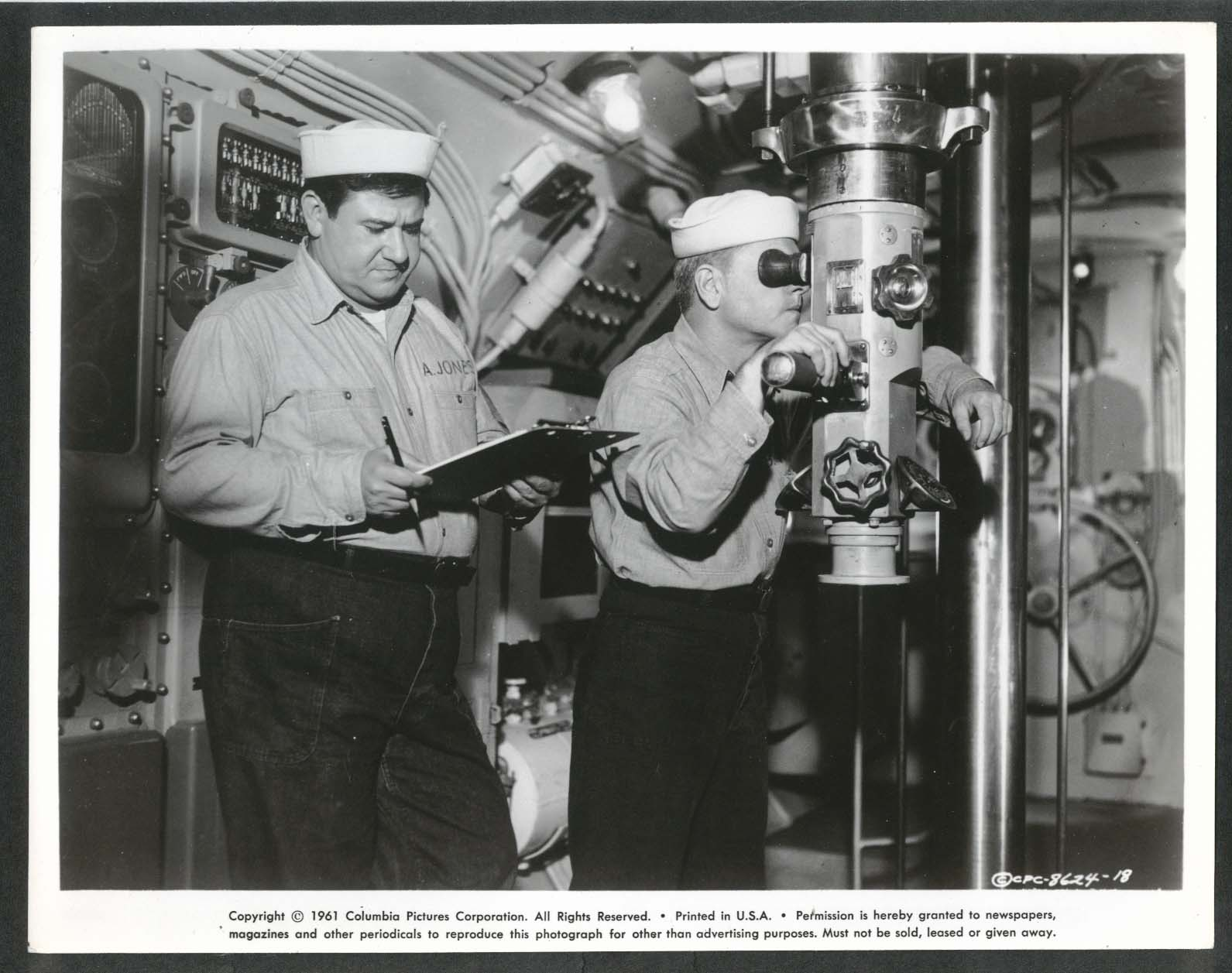Image for Buddy Hackett Everything's Ducky periscope 8x10 photograph 1961 #18