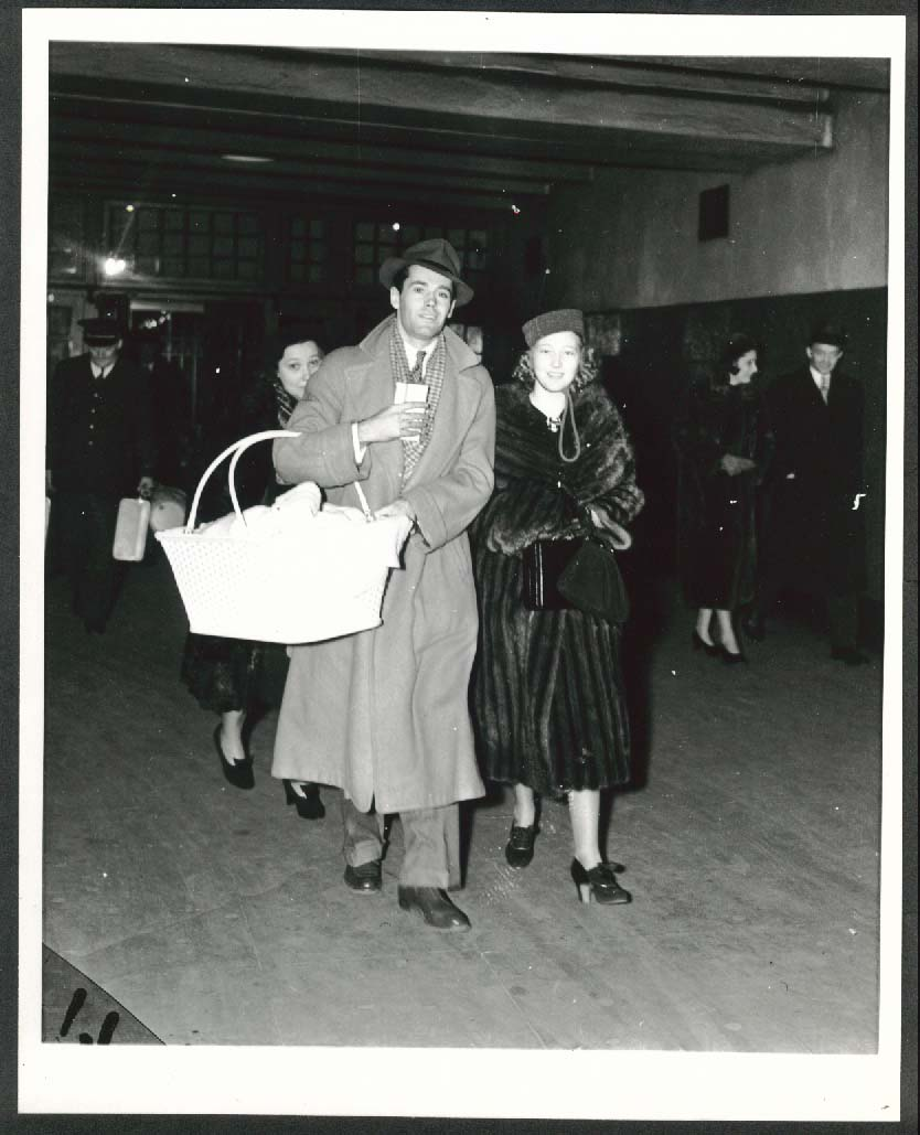 Image for Henry Fonda Frances Seymour 8x10 photograph 1940s later restrike