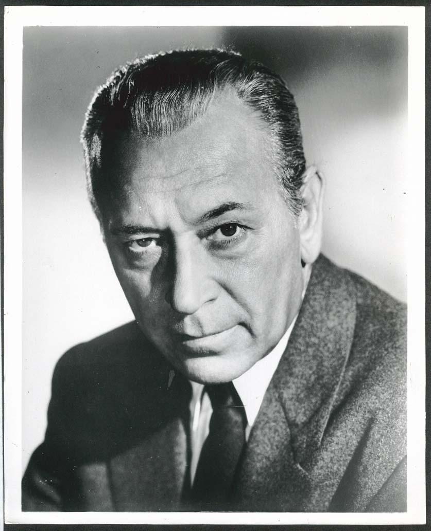 Image for George Raft headshot 8x10 photograph 1959
