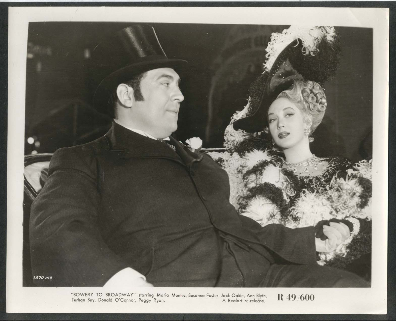 Image for Maria Montez Bowery to Broadway 8x10 photograph 1944