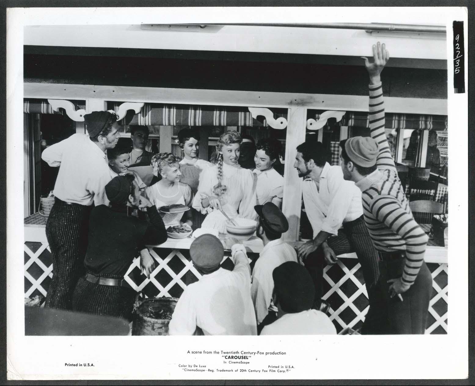 Image for Shirley Jones Carousel 8x10 photograph 1956