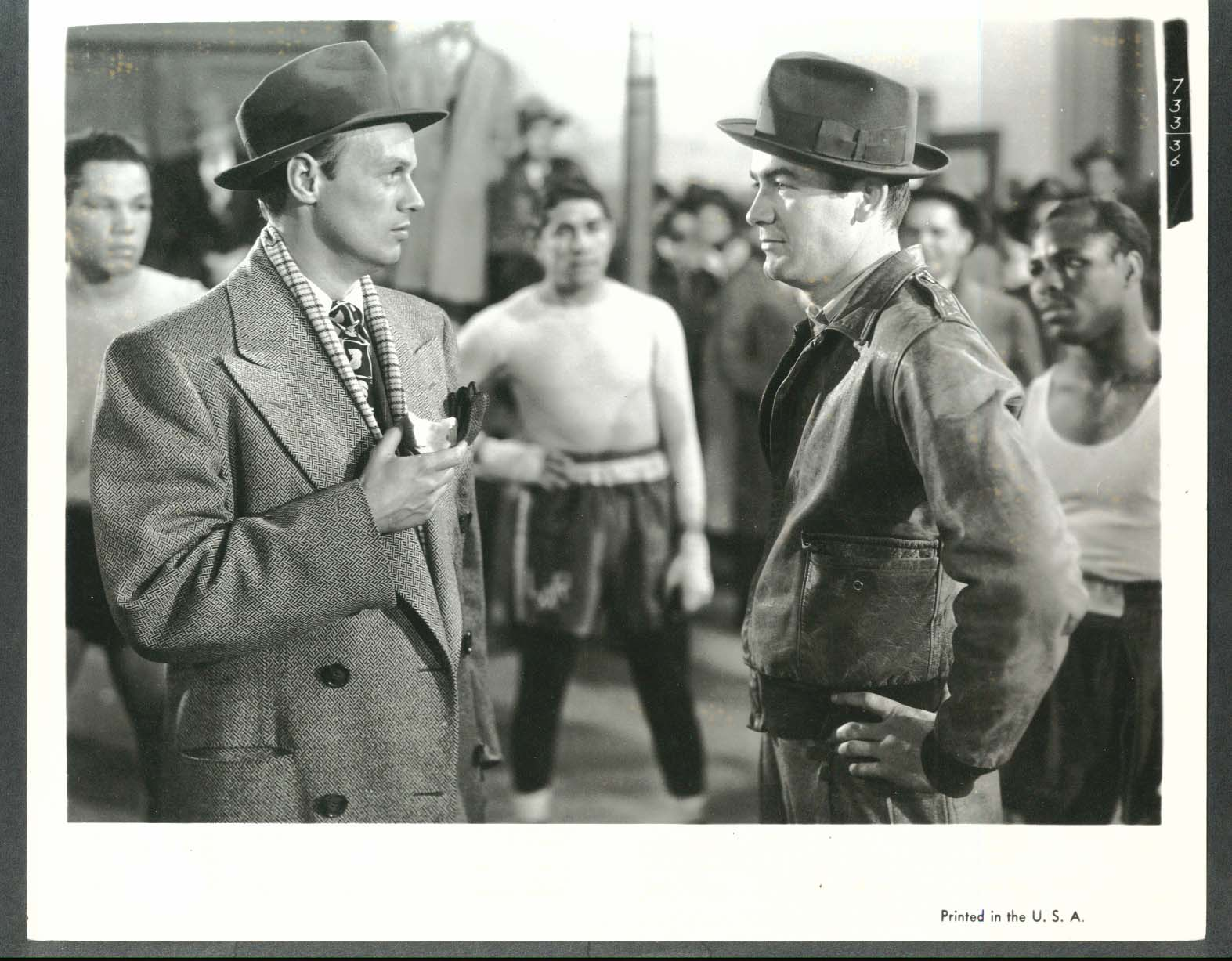 Image for Richard Widmark The Street With No Name 8x10 photograph 1948