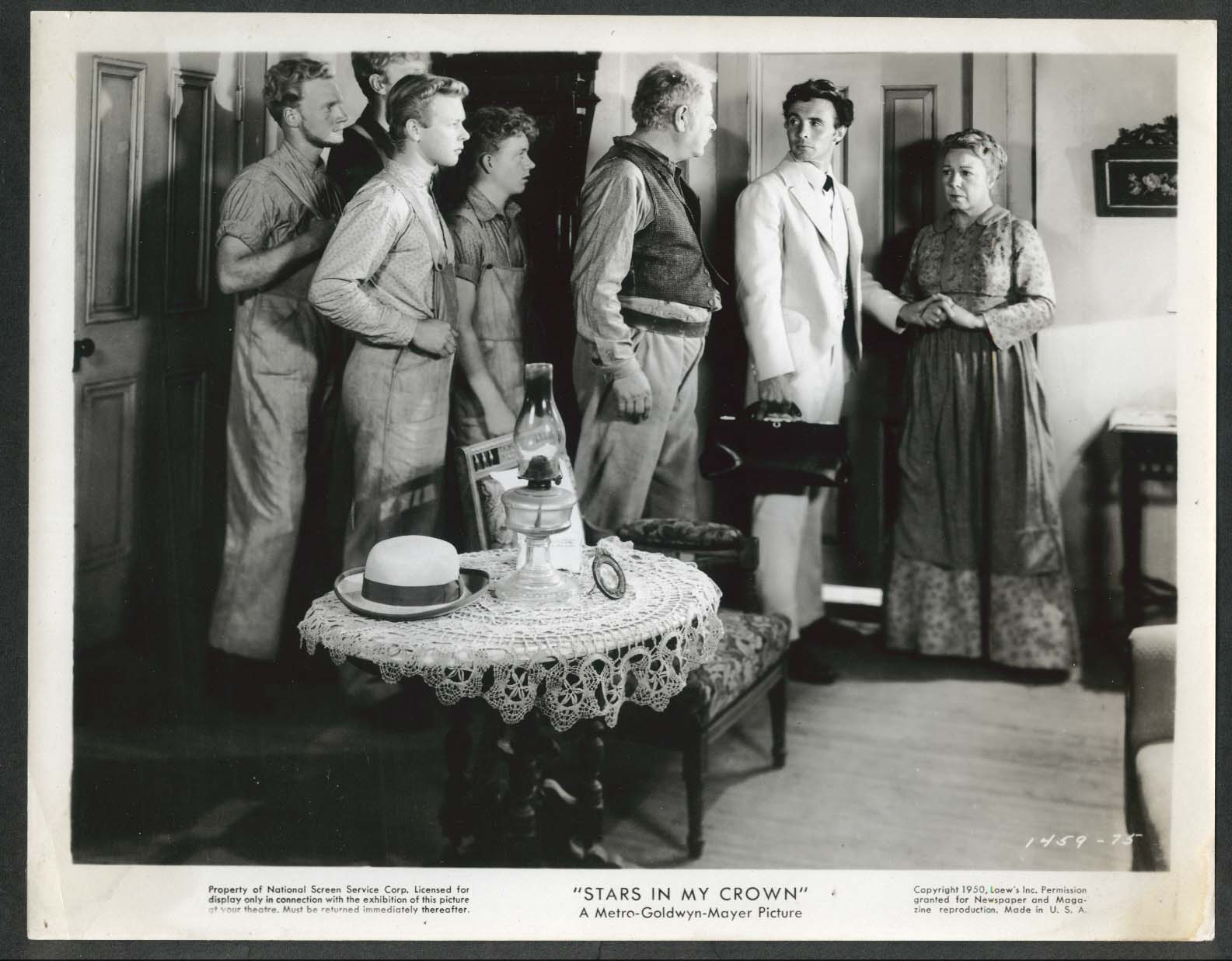 Image for Dean Stockwell Alan Hale James Mitchell Stars in My Crown 8x10 photograph 1950