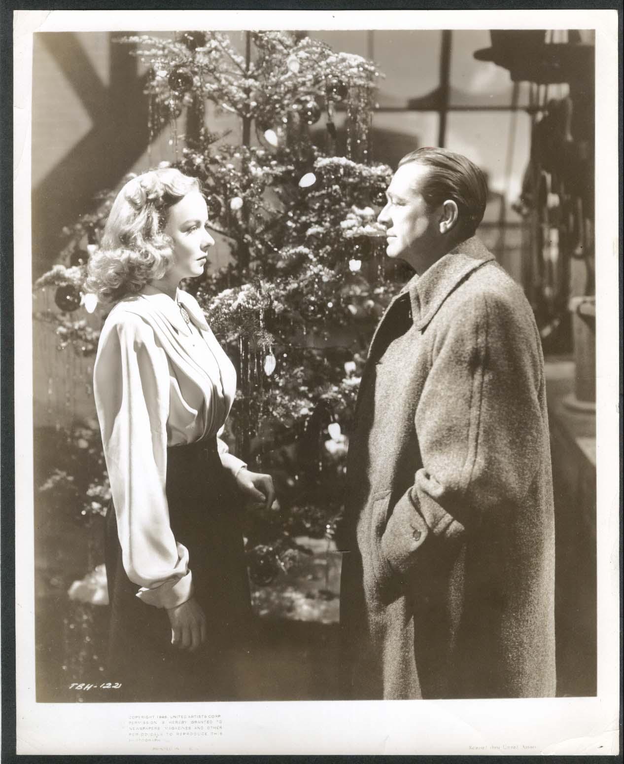 Image for Diana Lynn Christmas Tree 8x10 photograph 1940s