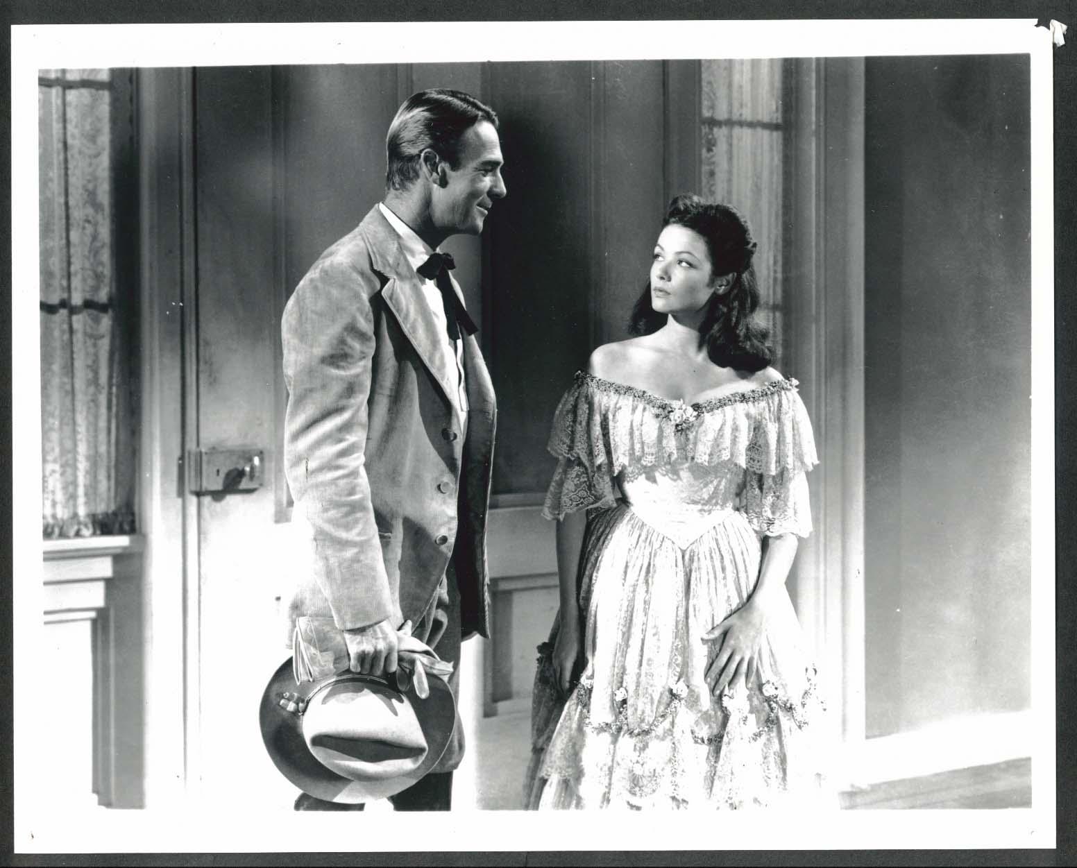 Image for Randolph Scott Gene Tierney Belle Starr 8x10 photograph later restrike