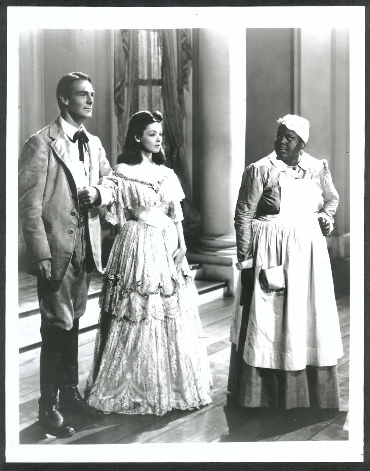 Image for Randolph Scott Gene Tierney Louise Beavers Belle Starr 8x10 photograph 1941
