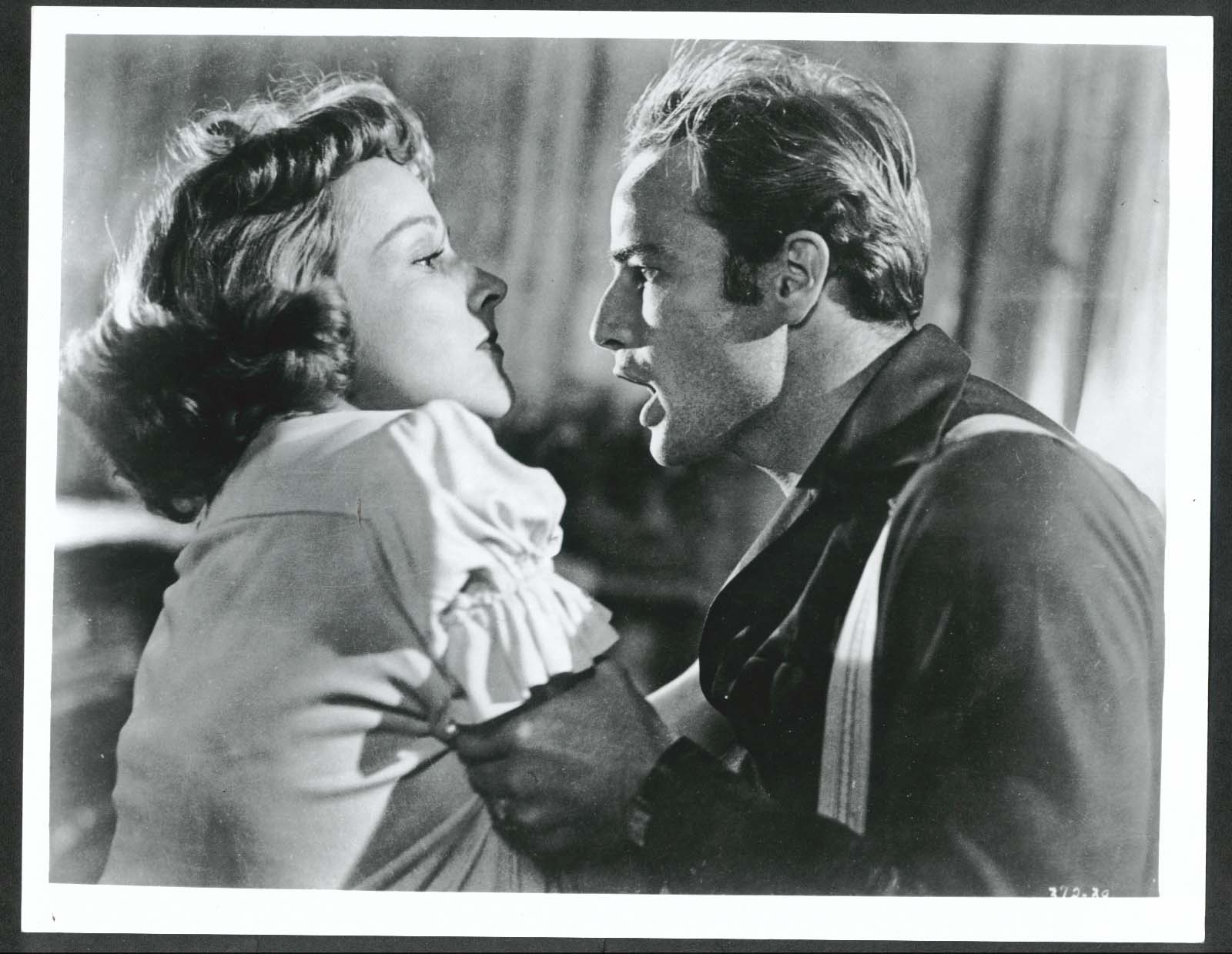 Image for Vivien Leigh Marlon Brando Streetcar Named Desire 8x10 photo restrike #2