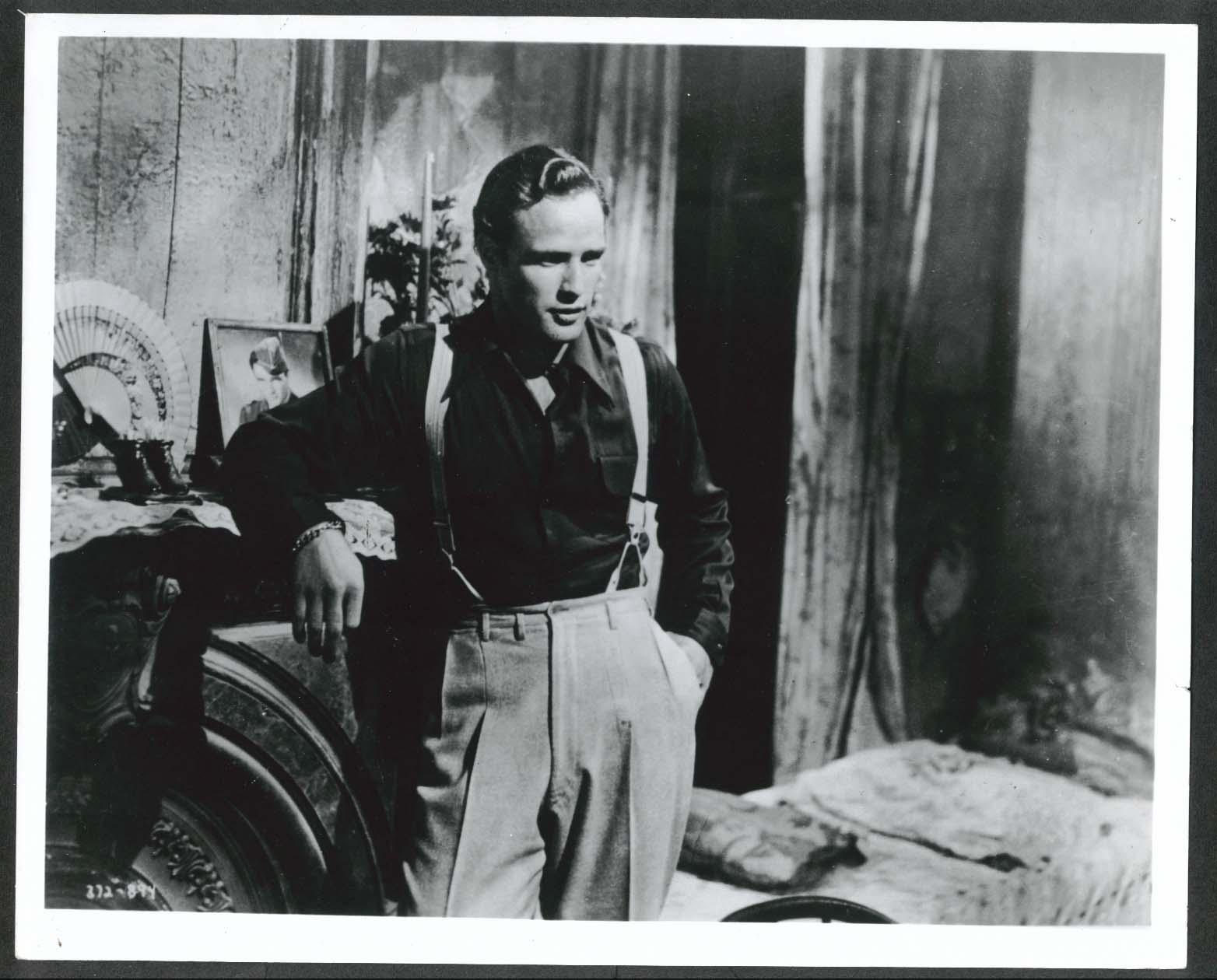 Image for Marlon Brando 8x10 photograph 1950s