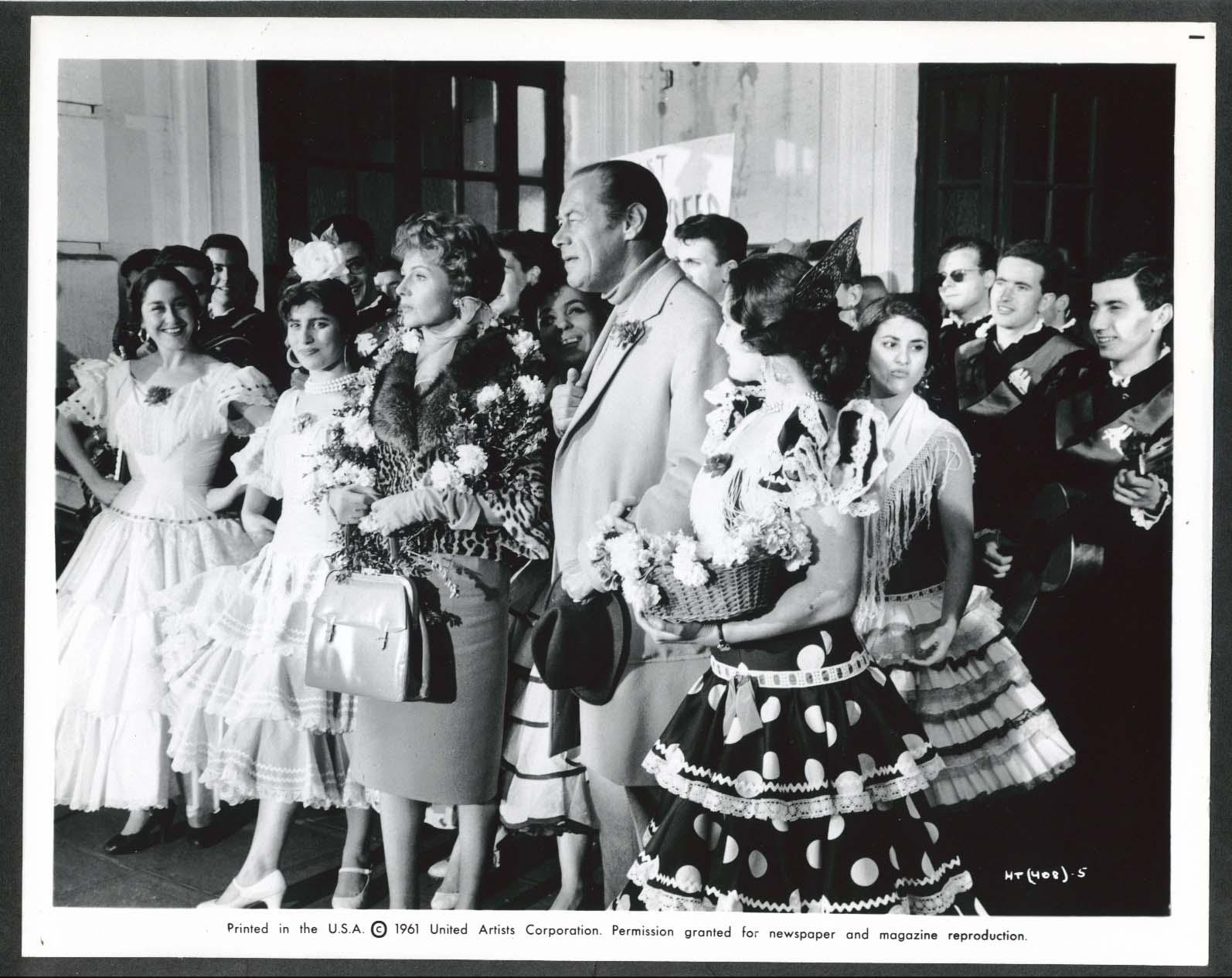 Image for Rex Harrison Rita Hayworth The Happy Thieves Spanish dance 8x10 photograph 1961