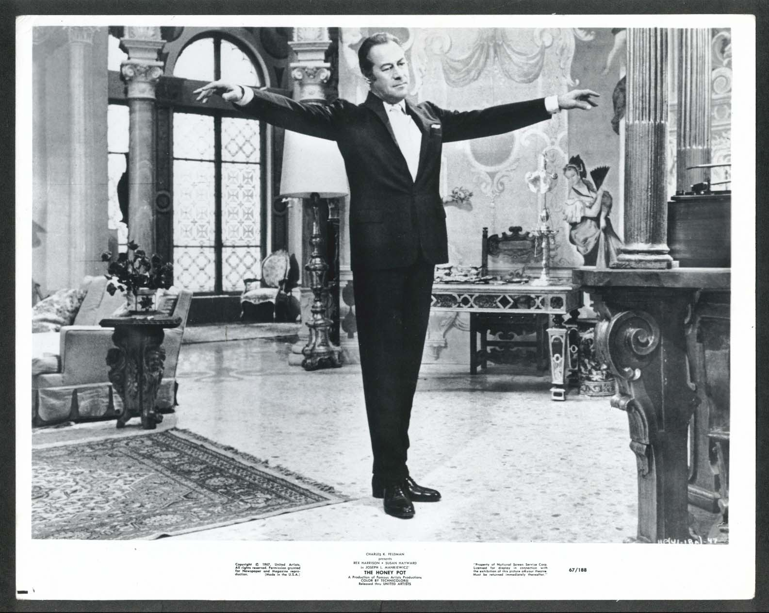 Image for Rex Harrison The Honey Pot 8x10 photograph 1967