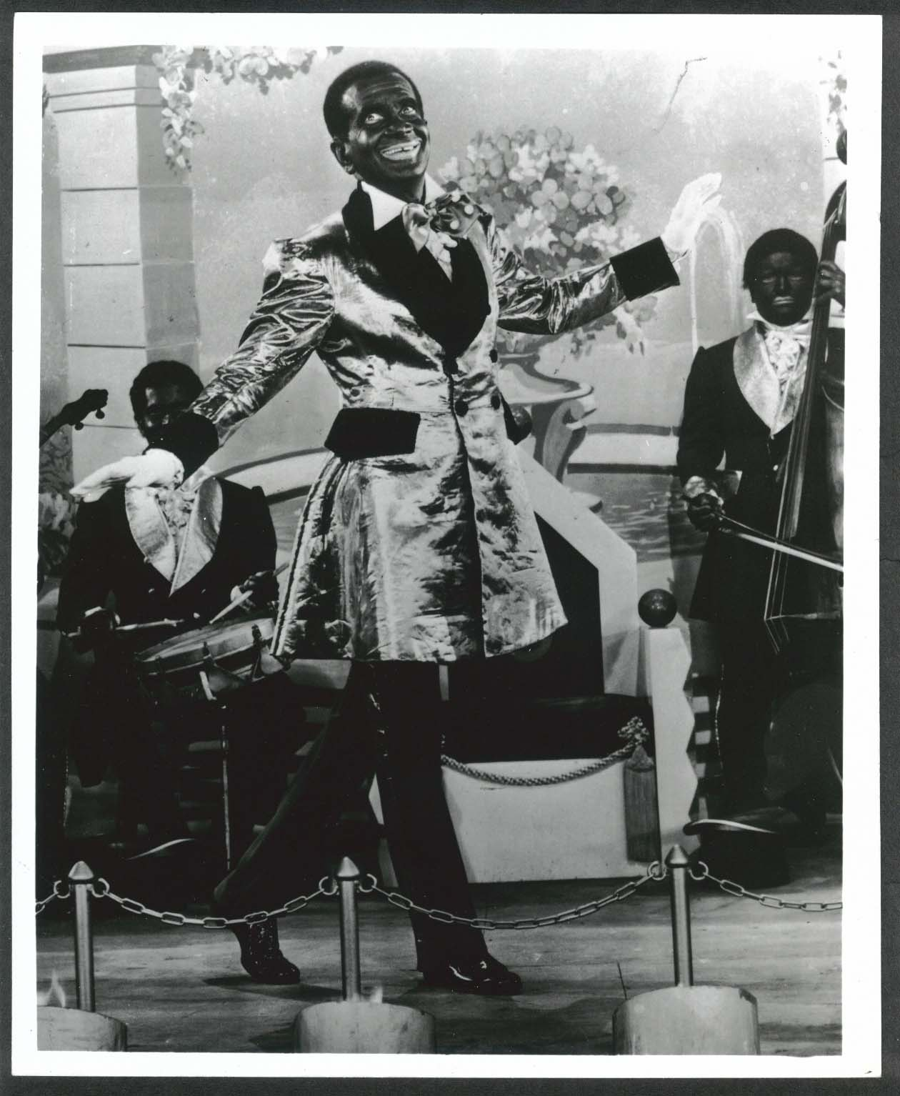 Image for Al Jolson Jazz Singer blackface 8x10 photograph restrike
