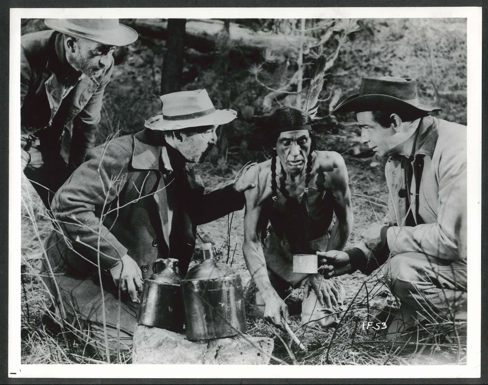 Image for Walter Matthau Ride a Crooked Trail 8x10 photograph 1958