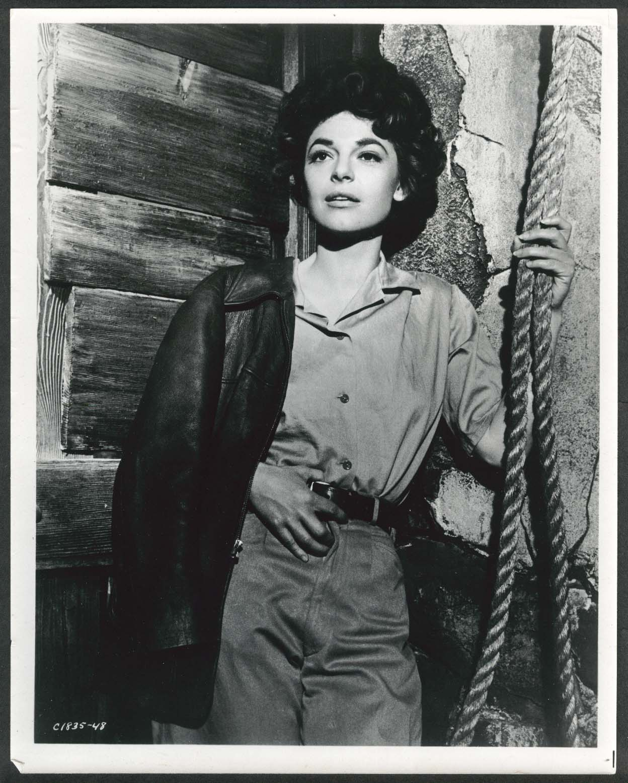 Image for Anne Bancroft leather jacket 8x10 photograph 1960s