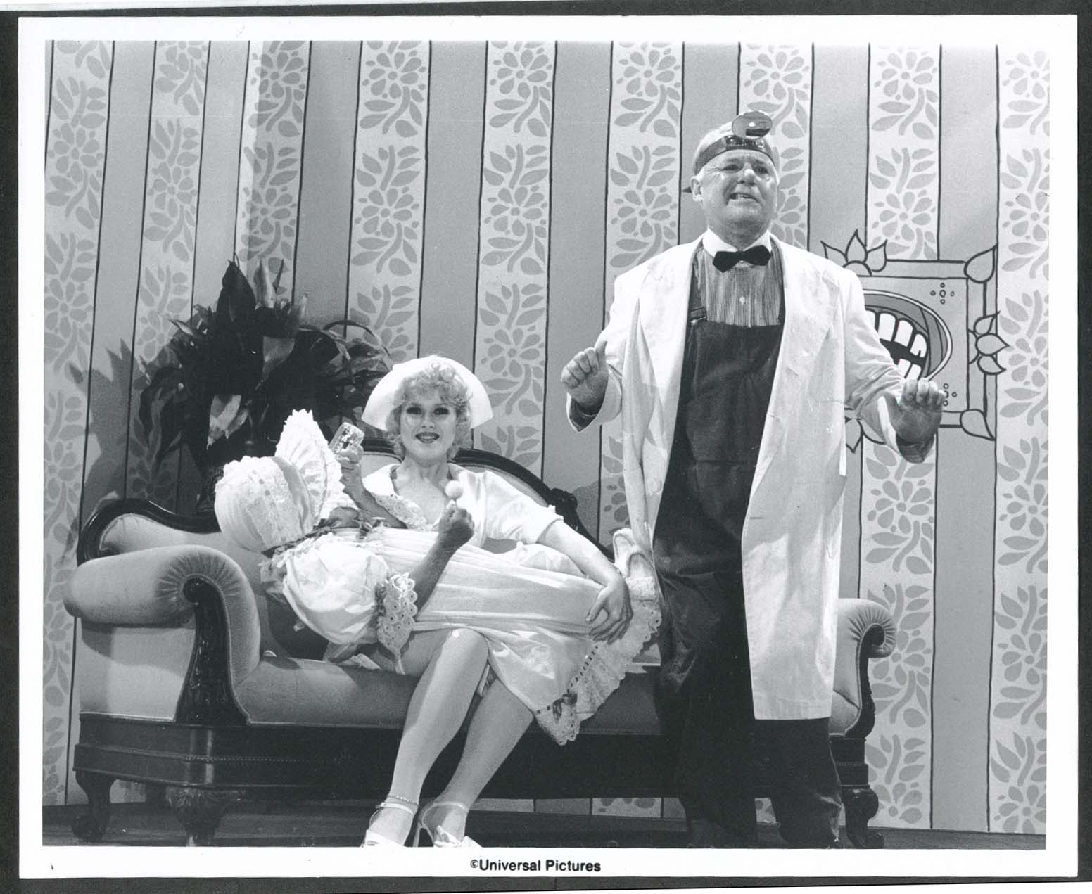 Image for Bernadette Peters Charles Durning 8x10 photograph 1980s