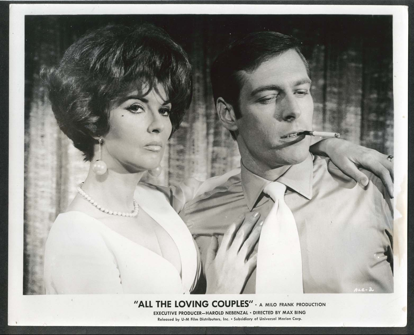 Image for Lynn Cartwright All the Loving Couples 8x10 photograph 1969