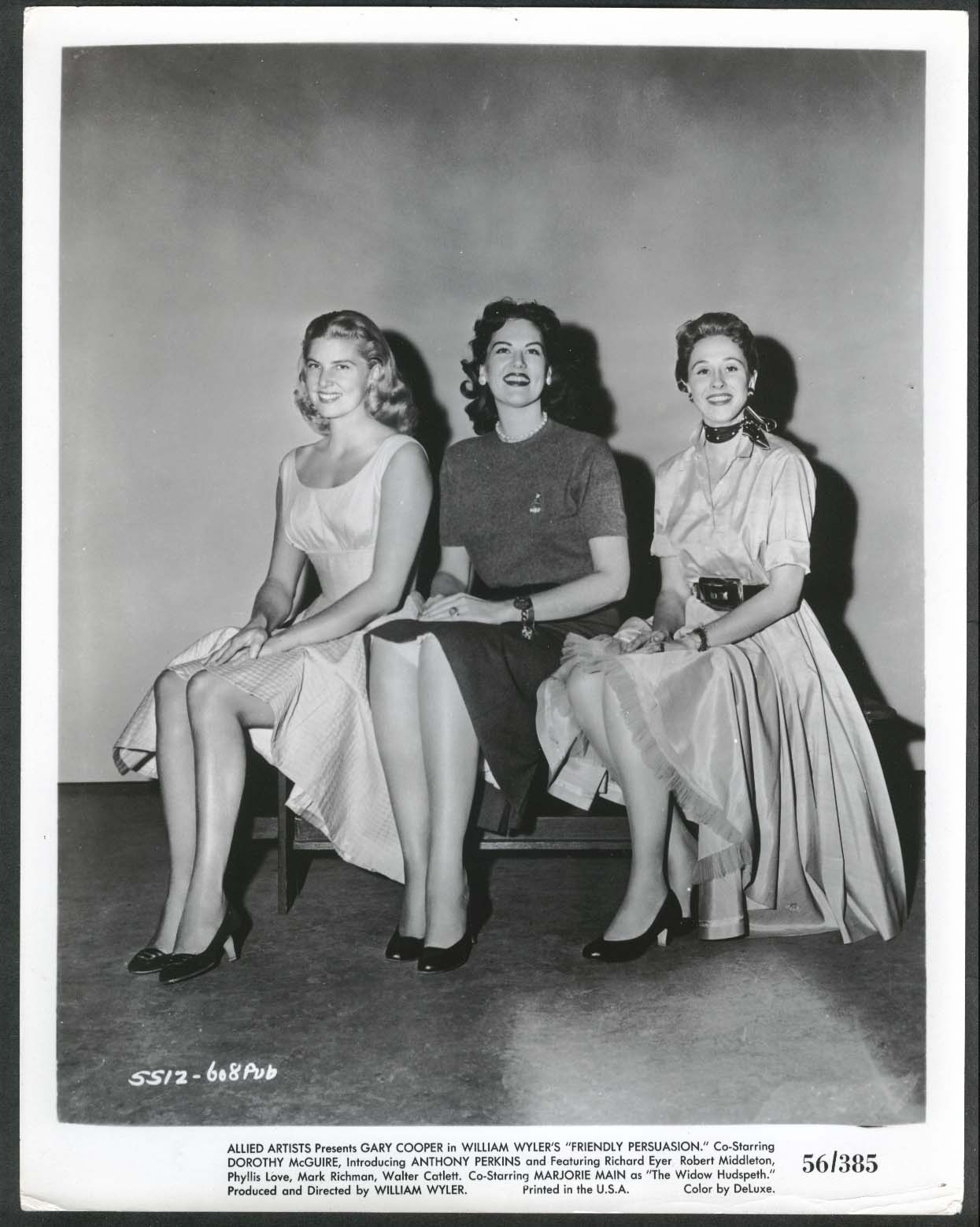 Image for Friendly Persuasion 8x10 photograph 1956