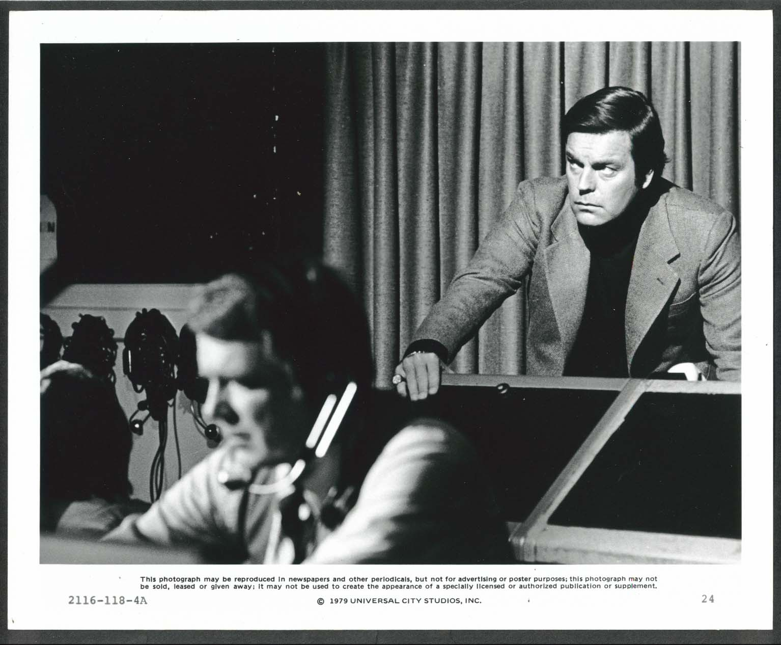 Image for Robert Wagner The Concorde Airport '79 8x10 photograph 1979