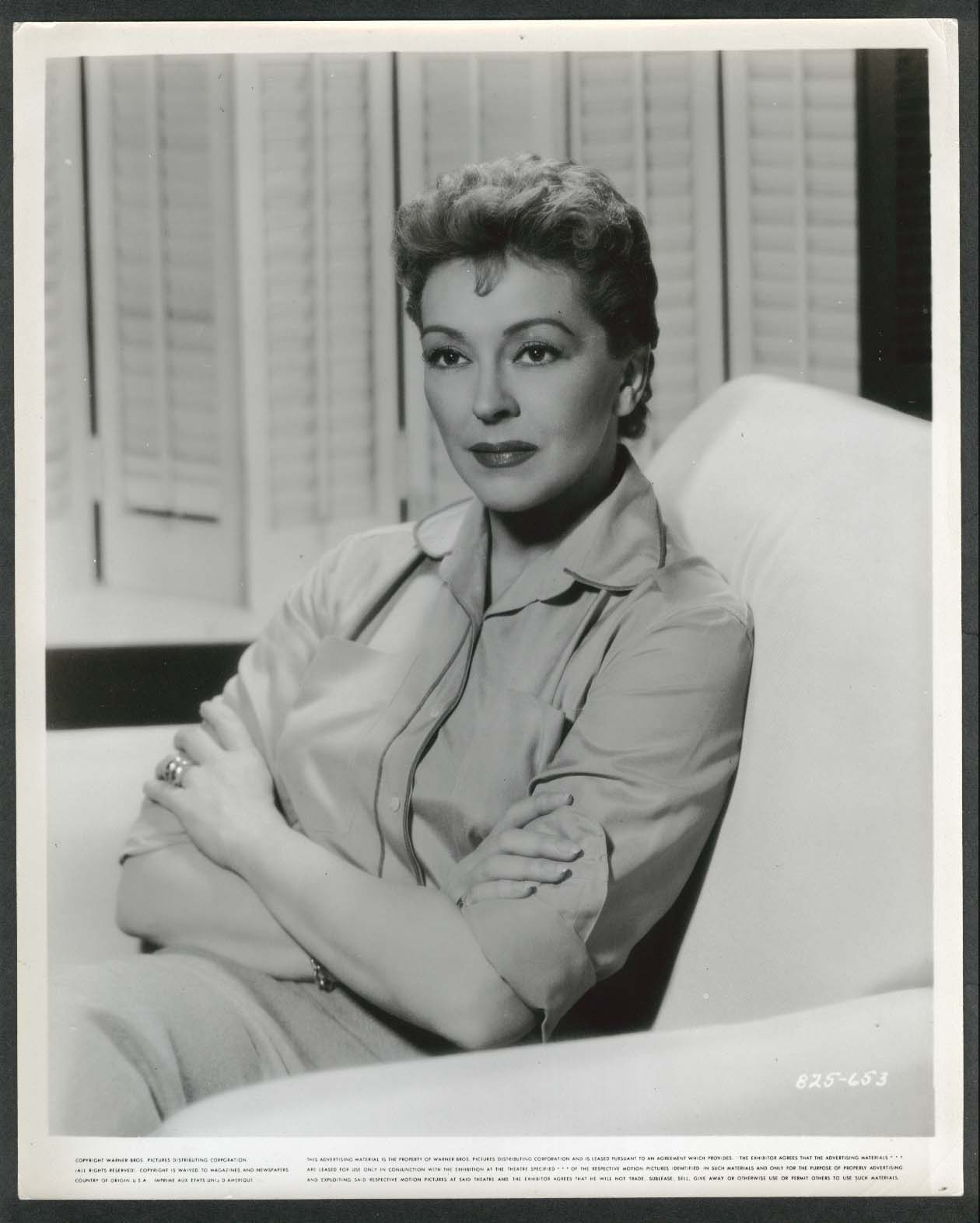 Image for Nancy Kelly 8x10 photograph 1950s