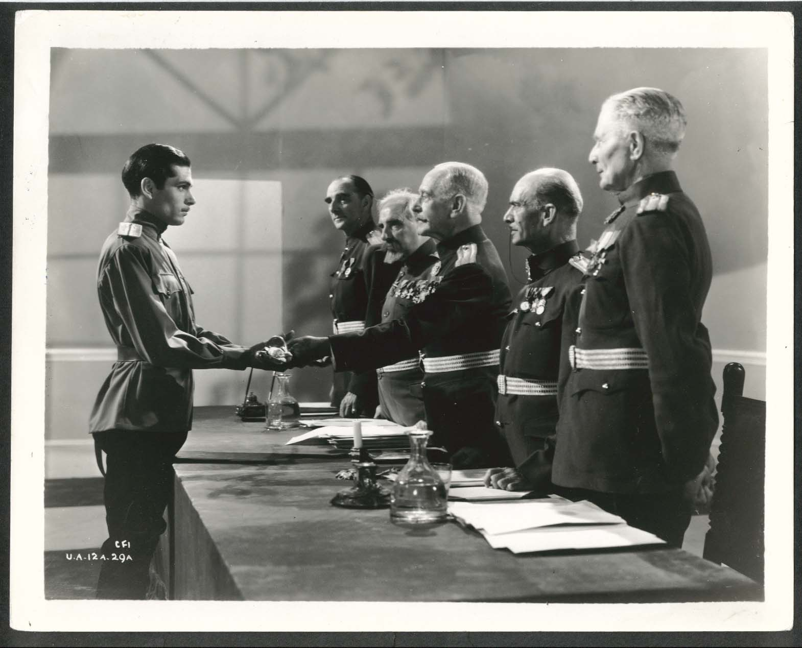 Image for Laurence Olivier C M Hallard I Stand Condemned 8x10 photograph 1935