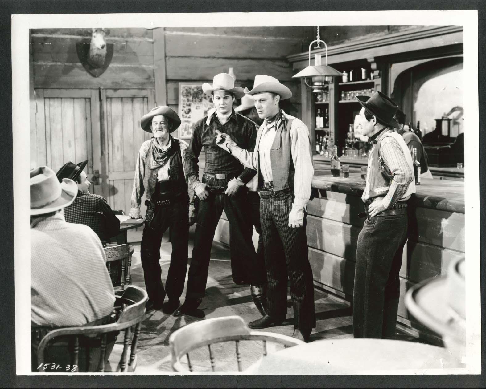 Image for Sunset Carson Robert Wilke 8x10 photograph 1940s