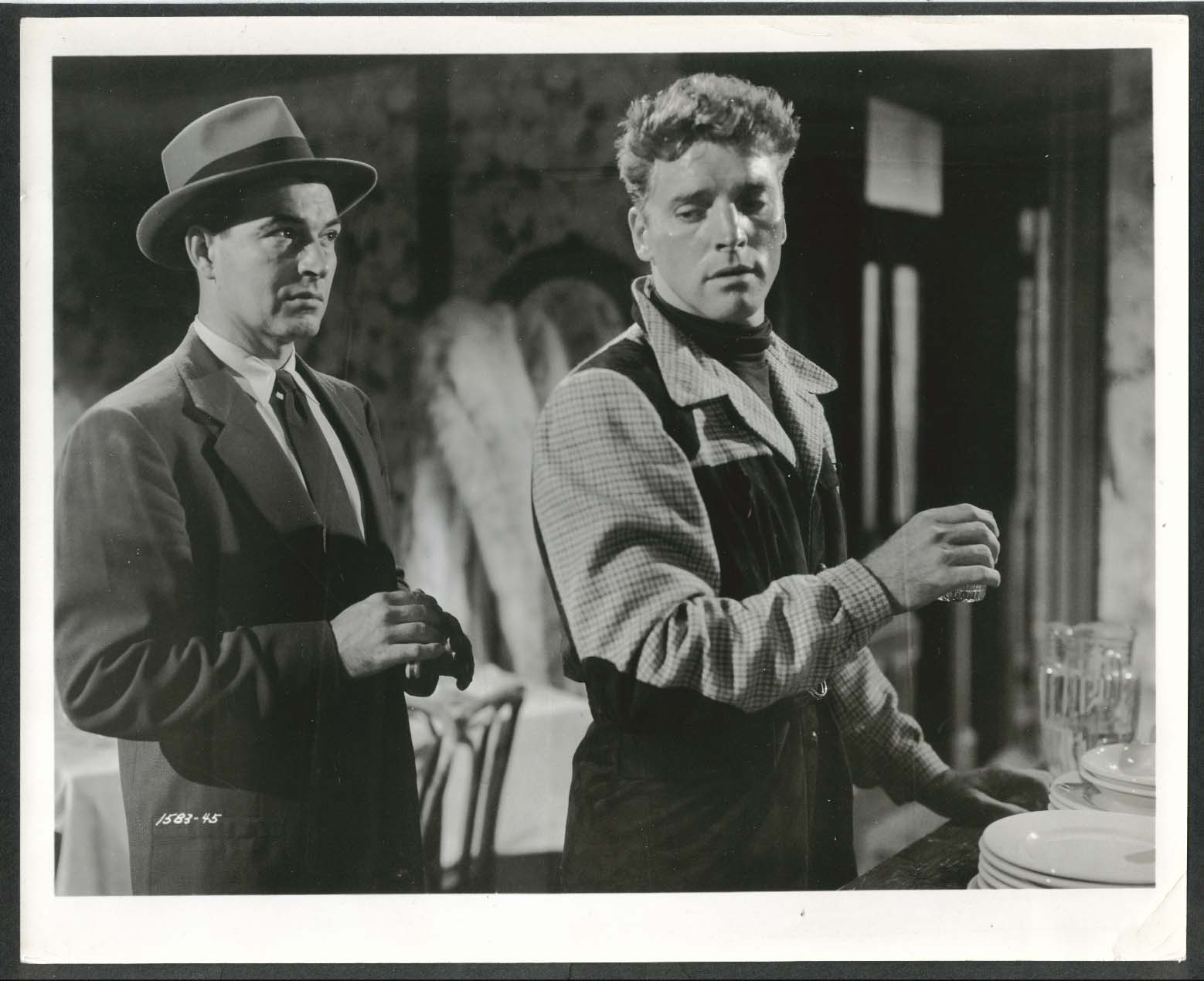 Image for Burt Lancaster 8x10 photograph 1940s