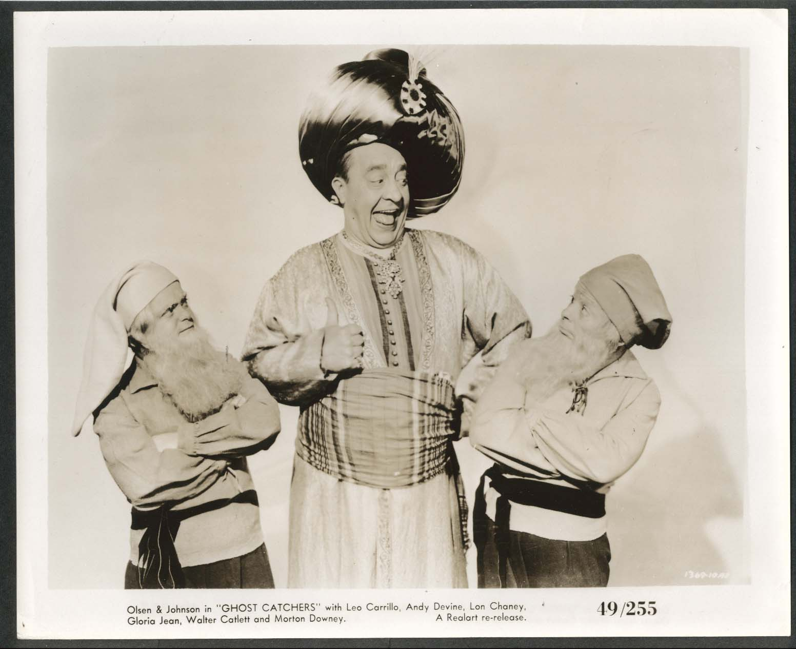 Image for Chic Johnson Ghost Catchers 8x10 photograph 1944