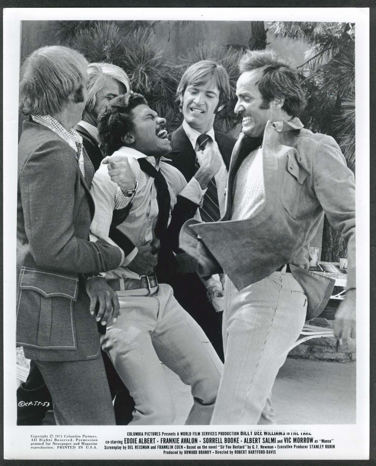Image for Billy Dee Williams The Take 8x10 photograph 1974
