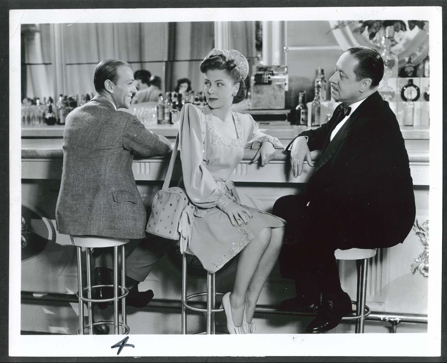 Image for Fred Astaire Joan Leslie Robert Benchley Sky's the Limit 8x10 photograph 1943