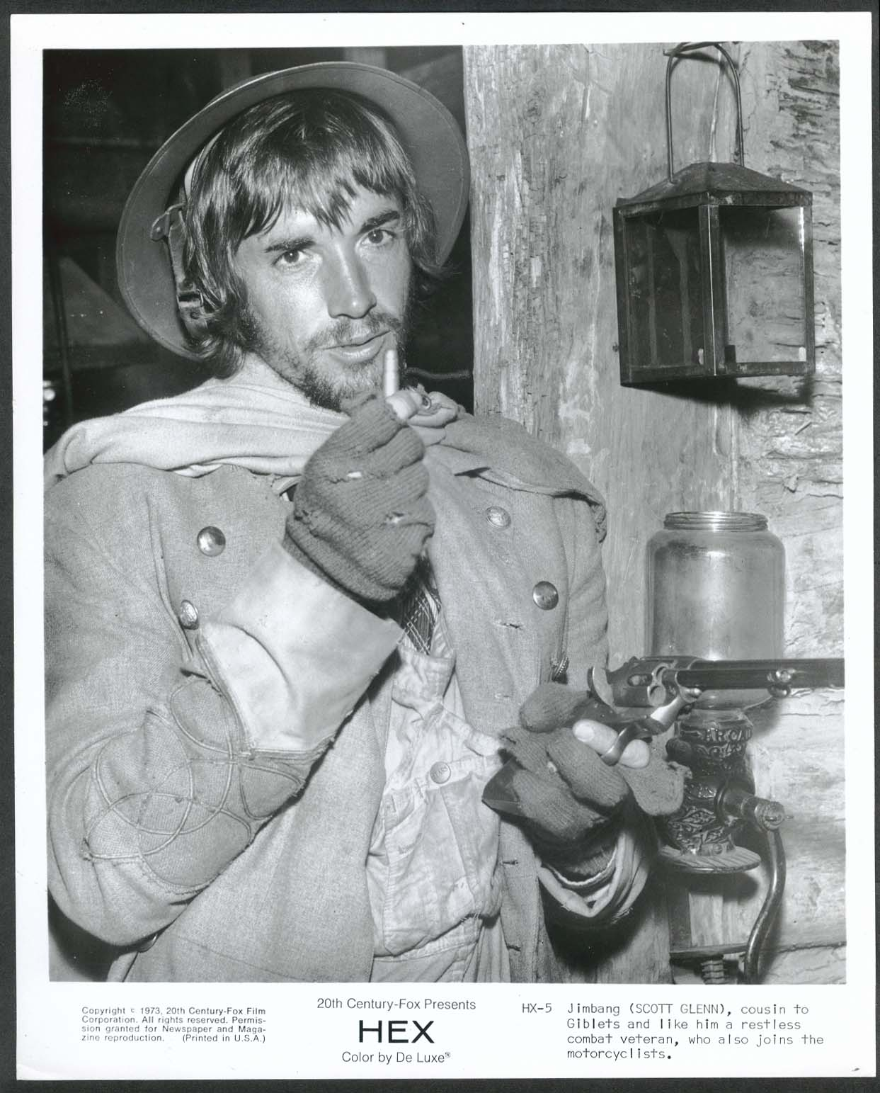 Image for Scott Glenn Hex 8x10 photograph 1973