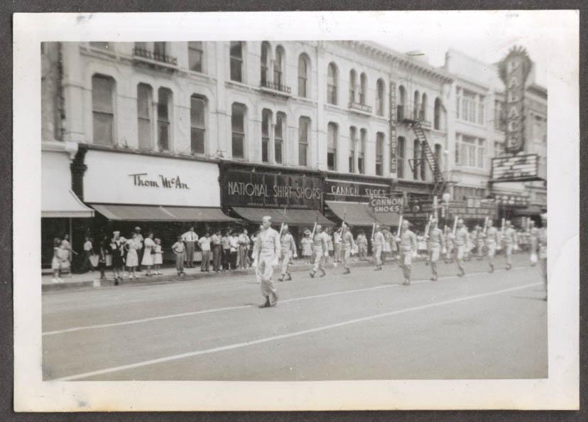 2nd Platoon 82nd AB San Antonio parade snapshot 1947