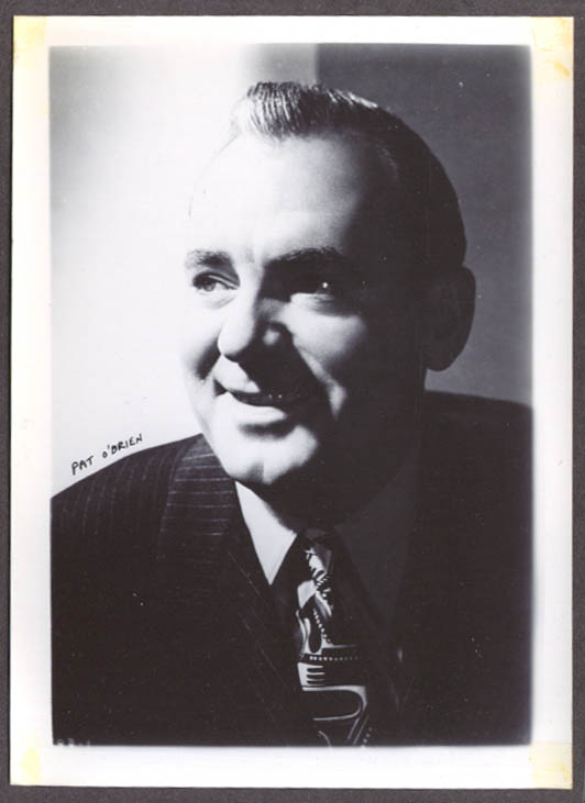 Actor Pat O'Brien studio 5x7 head shot
