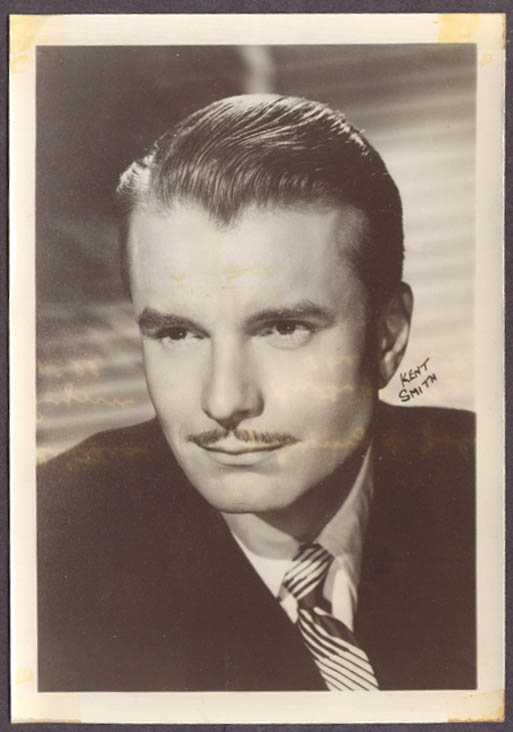 Actor Kent Smith studio 5x7 head shot
