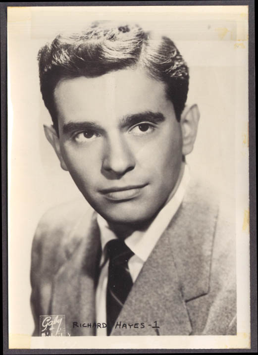 Actor Richard Hayes studio 5x7 head shot