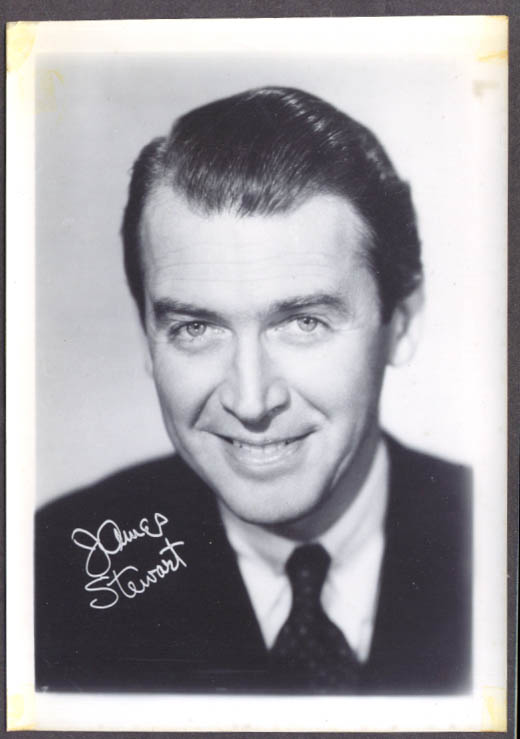 Actor James Stewart studio 5x7 head shot