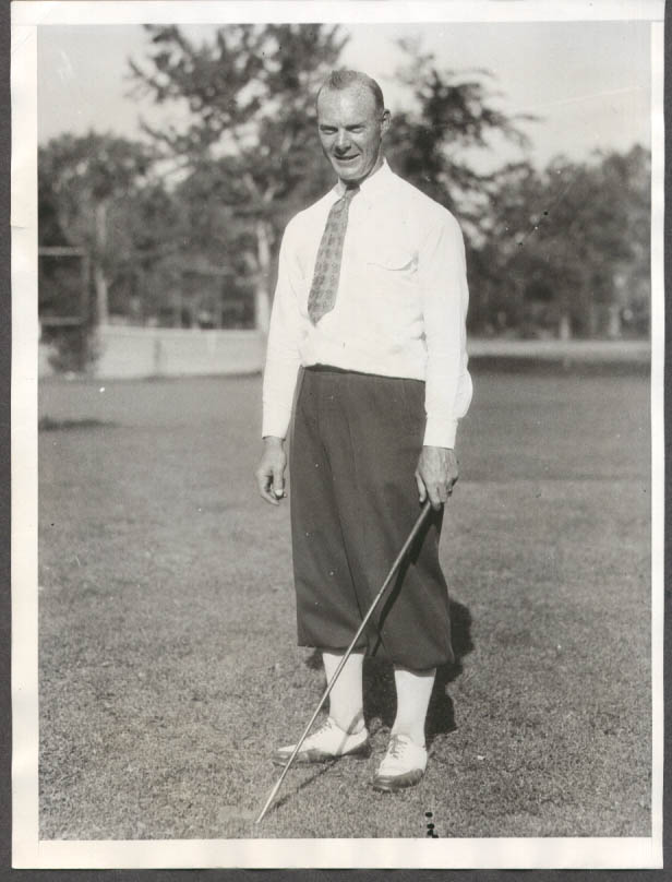 Robert McCrary Trans-Mississippi golf champ photo 1930