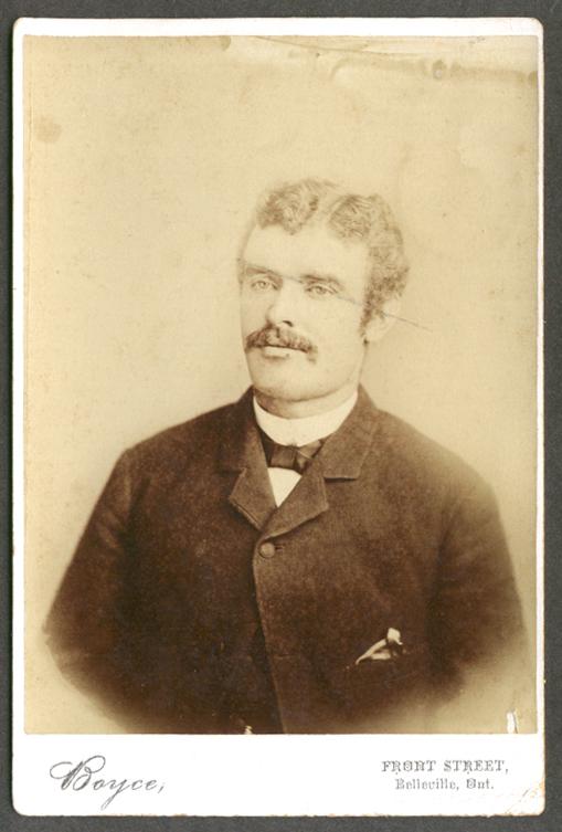 James Howatson of Rossmore cabinet Boyce Belleville ON