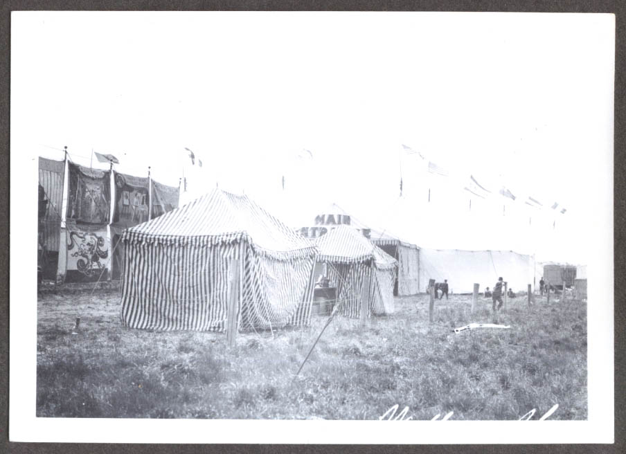 Image for Entrance Big Top Hagenbeck Wallace circus photo 1905-6