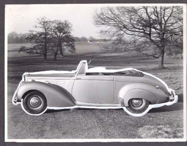 1952 Alvis 3-Litre Drophead Coupe photo