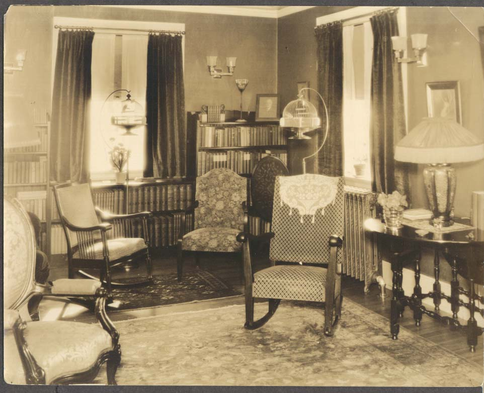 Title 1930s home interior bird cage tiffany lamp photo for 1930s interior designs