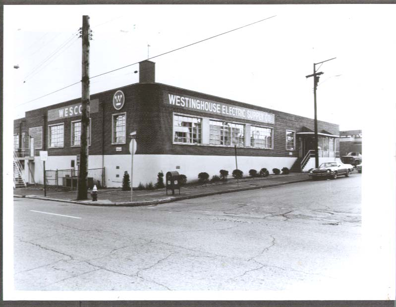Westinghouse Electric Supply 6th & Shirley photo 1970s