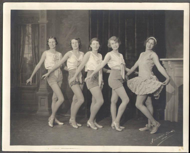 All-girl Dancers Brignolo Studio Bridgeport CT 1930
