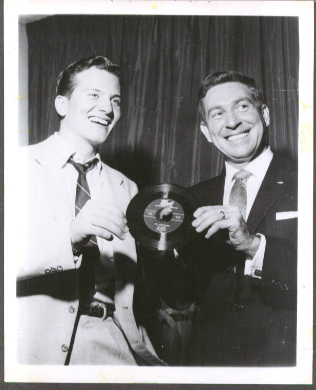 Pat Boone Gee Whittakers 45rpm single promo 8x10 1956
